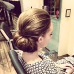 Abbey A Hair Up April 5