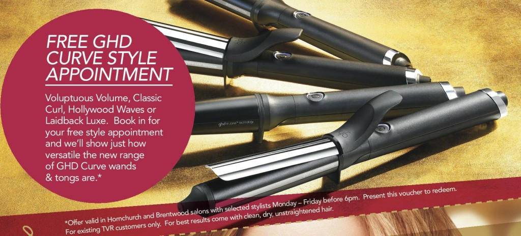 GHD Style Appointment